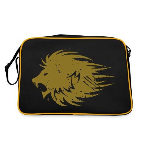 MWB Print Lion Orange - Retro Bag