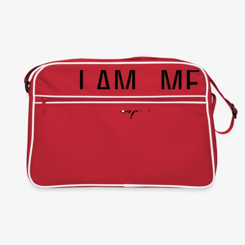 I AM . shirt - Retro-tas