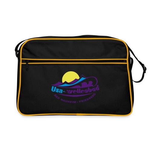 logo usa wellenbad - Retro Tasche