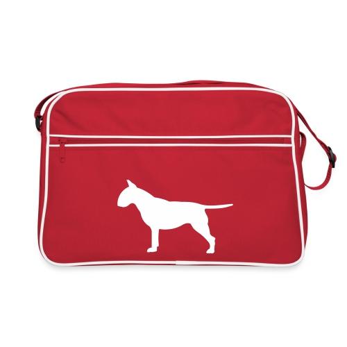 hunde_dogz_minibull_rumbs - Retro Tasche