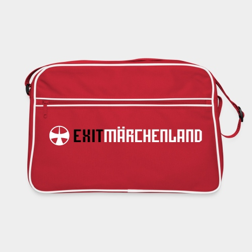 exit maerchenland shirt lanyard - Retro Bag