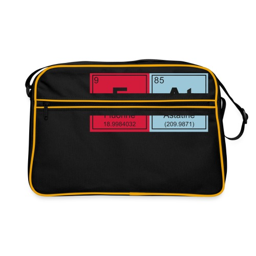 Geeky Fat Periodic Elements - Retro Bag