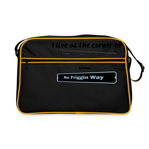 I_LIVE_AT_THE_CORNER_CUT_-2- - Retro Bag