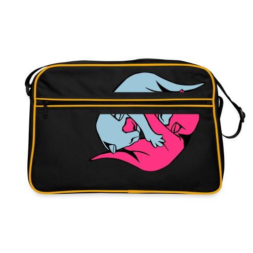 Yin and Yang Kitties - Retro Bag