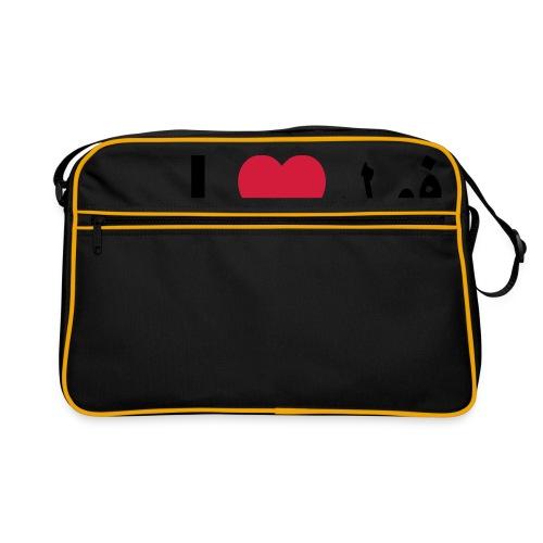 I heart Fool - Retro Bag
