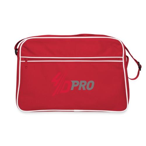 4d pro logo neu - Retro Tasche