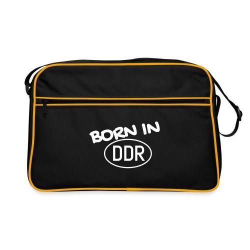 Born in DDR schwarz - Retro Tasche