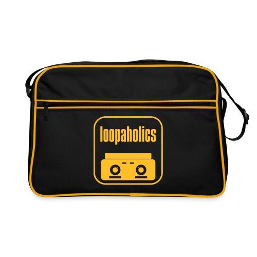 Loopaholics logo - Retro Bag