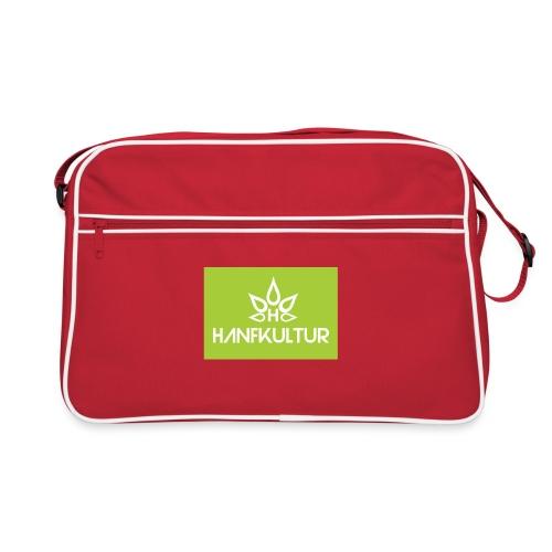 Hanfkultur net Firmenlogo - Retro Tasche