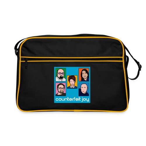 Counterfeit Joy logo2 - Retro Bag