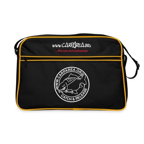 carparea logo schwarz 225x225mm v2 - Retro Tasche