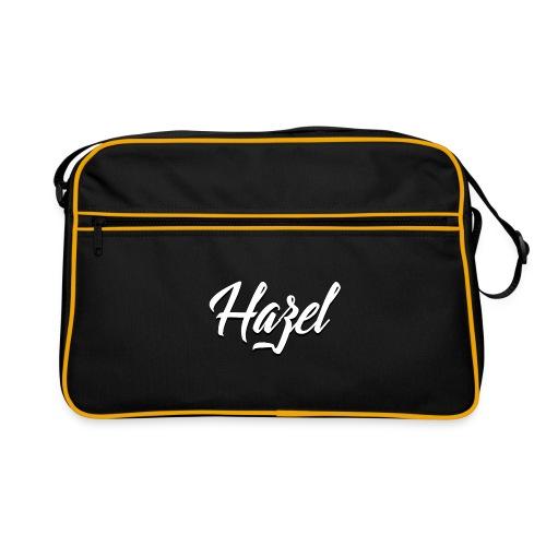 Logo Hazel Blanc Noir png - Sac Retro