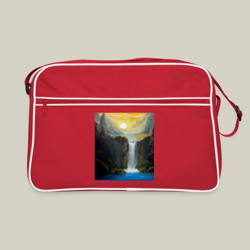 Waterfall - Retro Tasche