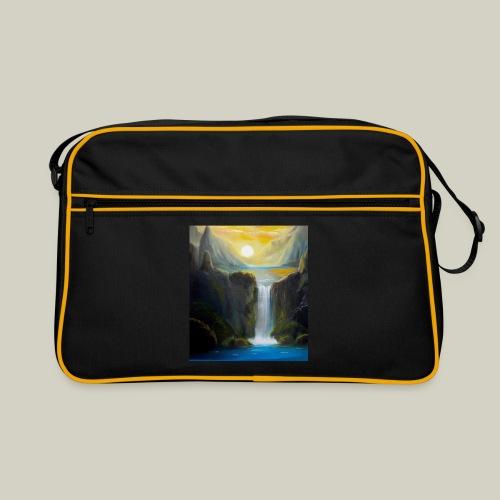 Waterfall - Retro Tasche