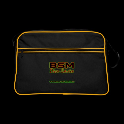 BSM Disco Service Logo - Retro Bag