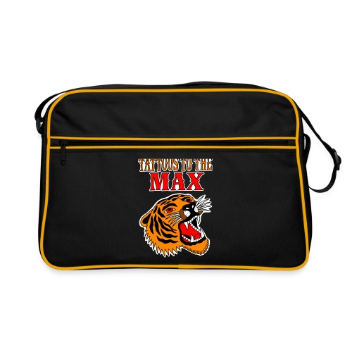 Tattoos to the Max - Tiger - Retro Tasche