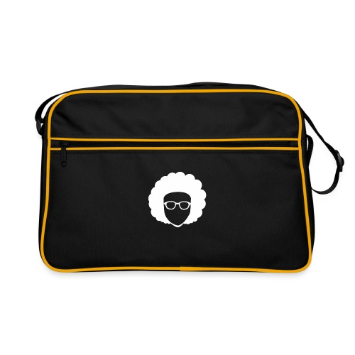 Afro Nerd - nerdy - Retro Bag
