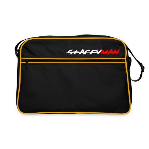 staceyman red design - Retro Bag