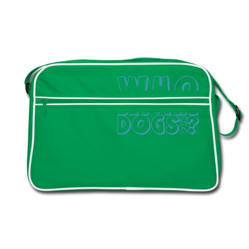 Who Let the Dogs Out? - Retro Tasche
