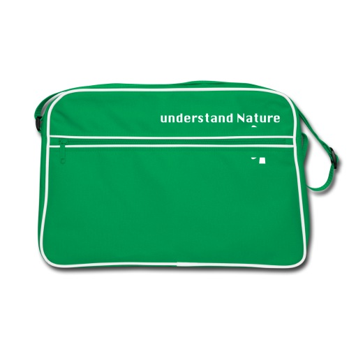 Understand Nature! And think Green. - Retro Bag
