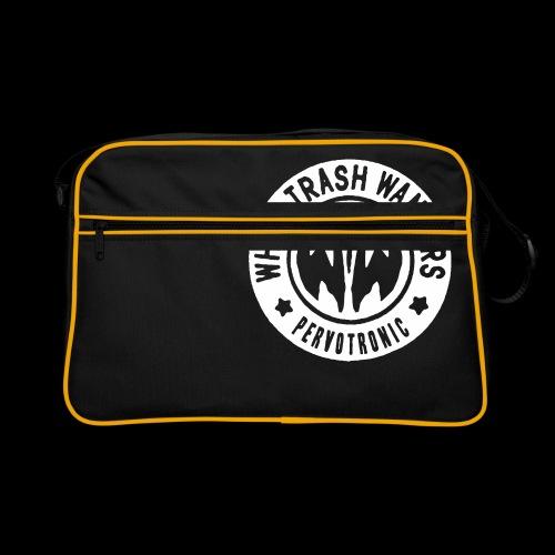 White Trash Wankers Pervotronic-Logo - Retro Tasche