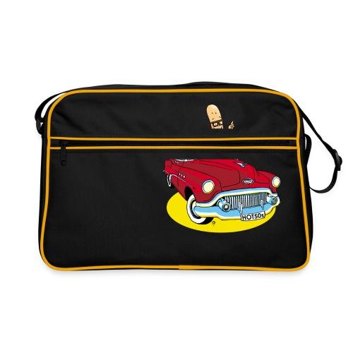 Herr Bohnemann im Buick - Retro Tasche