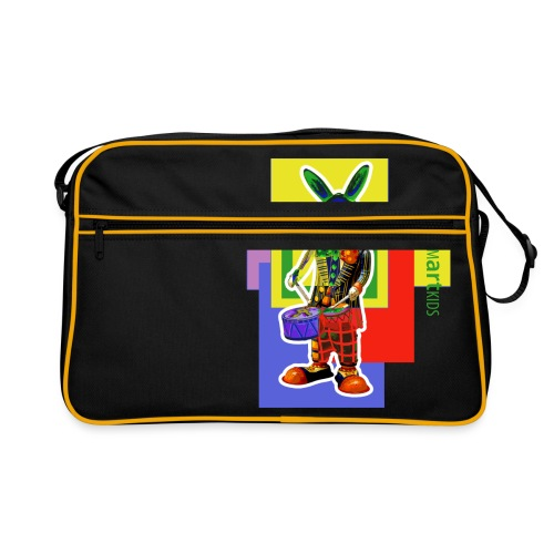 smARTkids - Slammin' Rabbit - Retro Bag