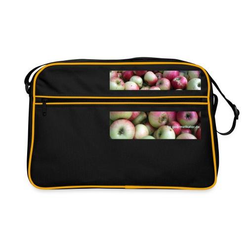 Äpfel - Retro Tasche