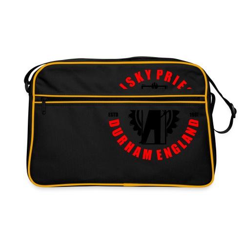 IRON MAN LOGO RED BLACK TRANS - Retro Bag
