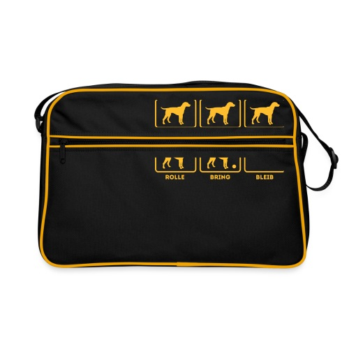 Für alle Hundebesitzer mit Humor - Retro Tasche