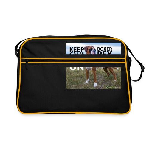 Keep calm and carry on - Retro Bag