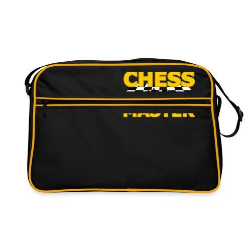 Chess Master - Black Version - By SBDesigns - Retro Bag
