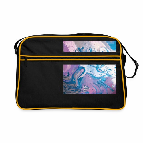 Abstract Space - Retro Tasche