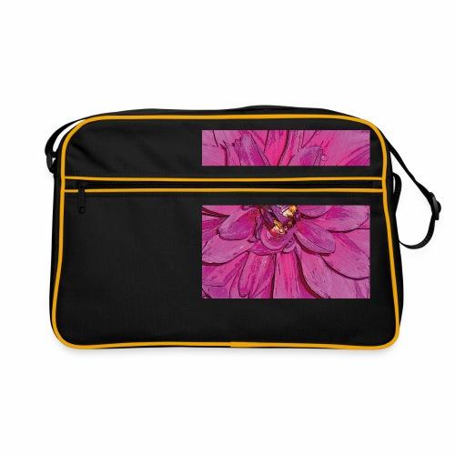 PinkFlower - Retro Tasche