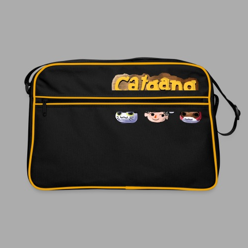 Animal Crossing CatGang - Retro Tasche