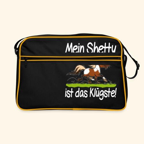 Mein Shetty das Klugste (Text weiss - Sac Retro