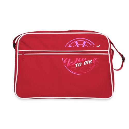 Talk Darty To Me Tee Design gift idea - Retro Bag