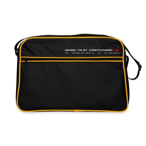 I CRASH A LOT - Retro Bag