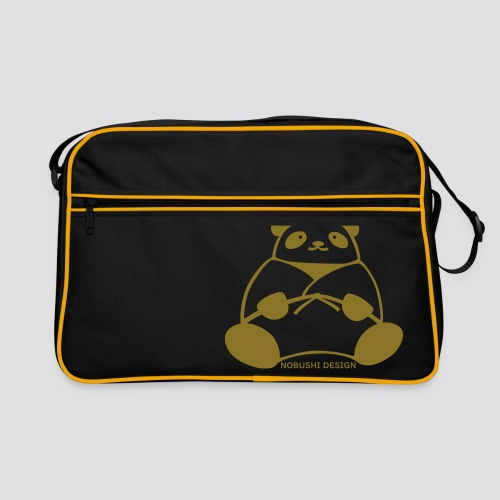 Gouden Panda - Retro-tas