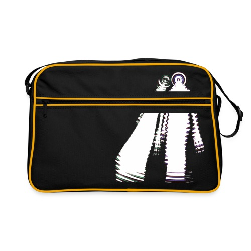 fatal charm - hi logo - Retro Bag
