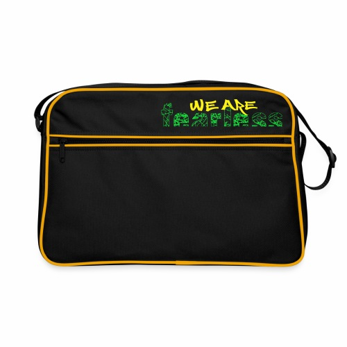 fearless - we are not alone - Retro Tasche