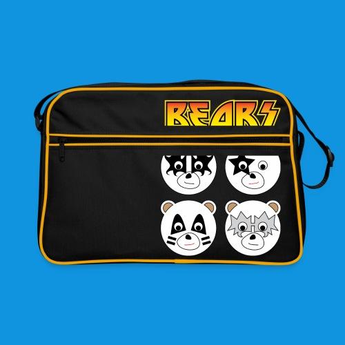Kiss Bears square.png - Retro Bag