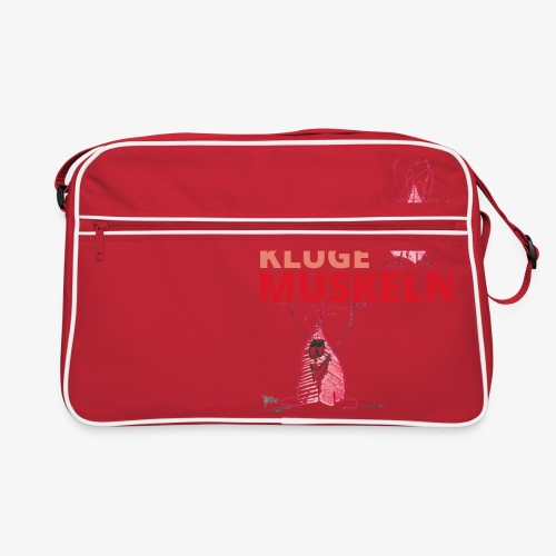 Kluge Muskeln - Retro Tasche