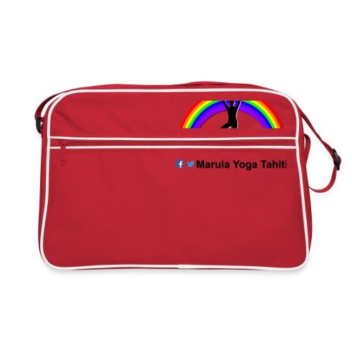 Logo de Maruia Yoga Tahiti - Sac Retro