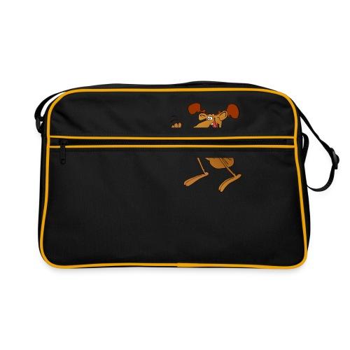 elch huepft - Retro Tasche