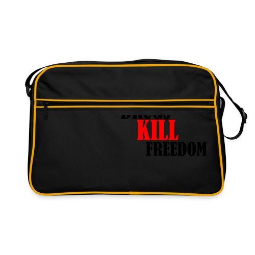 Drugs KILL FREEDOM! - Torba retro