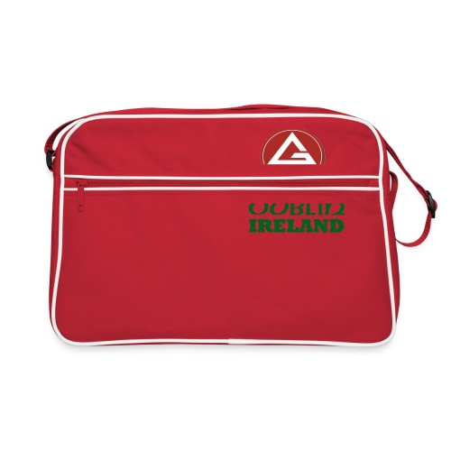 Gracie Barra Dublin Gaelic Celtic Font PNG - Retro Bag