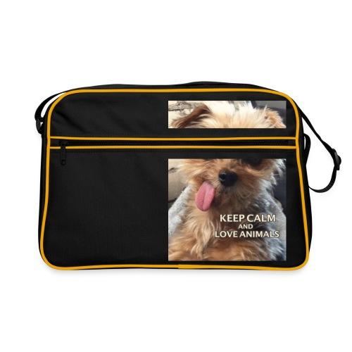 Dog - Retro Tasche