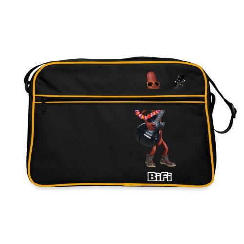 BiFi T-Shirt Men - Retro Bag
