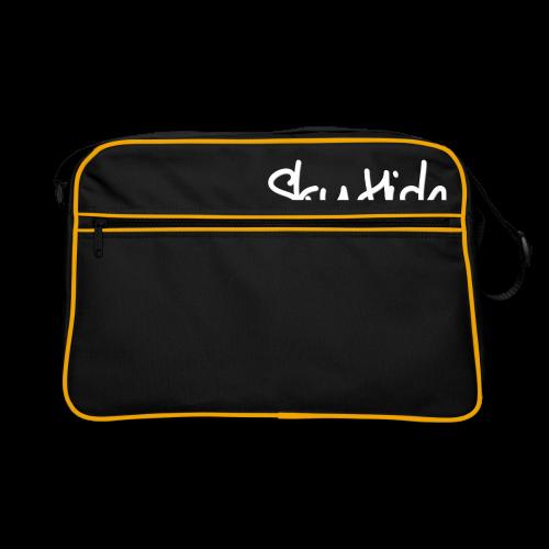 SkyHigh - Women's Chill Shirt - White Lettering - Retro Bag